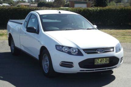 2014 Ford Falcon FG MK2 (LPi) White 6 Speed Automatic Utility Riverstone Blacktown Area Preview