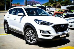 2019 Hyundai Tucson TL4 MY20 Active X 2WD White 6 Speed Automatic Wagon Myaree Melville Area Preview