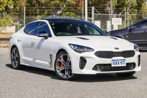 2017 Kia Stinger CK MY18 GT Fastback White 8 Speed Sports Automatic Sedan Gosnells Gosnells Area Preview