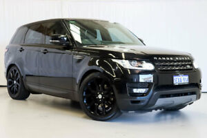 2015 Land Rover Range Rover Sport L494 16MY SE Black 8 Speed Sports Automatic Wagon