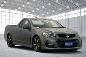 2016 Holden Ute VF II MY16 SS Ute Black Grey 6 Speed Manual Utility Victoria Park Victoria Park Area Preview