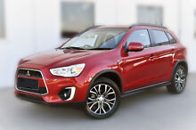 2015 Mitsubishi ASX XB MY15.5 LS 2WD Red 6 Speed Constant Variable Wagon Pakenham Cardinia Area Preview