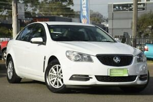 2017 Holden Commodore VF II MY17 Evoke White 6 Speed Sports Automatic Sedan Condell Park Bankstown Area Preview