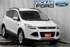 LIKE NEW 2014 Escape SE--4WD--White Platinum