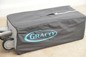 Travel cot - excellent condition, only used a few times