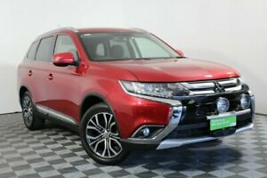 2015 Mitsubishi Outlander ZK MY16 XLS 4WD Red 6 Speed Sports Automatic Wagon Wayville Unley Area Preview