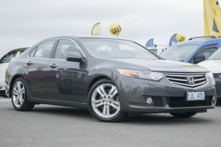 2008 Honda Accord Euro CU Luxury Volcano Grey 6 Speed Manual Sedan Pearce Woden Valley Preview