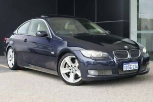 2006 BMW 3 Series E92 Monaco Blue 6 Speed Sports Automatic Coupe Wangara Wanneroo Area Preview