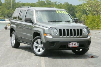 2013 Jeep Patriot MK MY2013 Limited CVT Auto Stick Grey 6 Speed Constant Variable Wagon