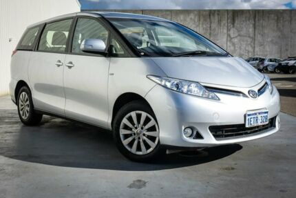 2015 Toyota Tarago ACR50R MY13 GLi Silver 7 Speed Constant Variable Wagon Canning Vale Canning Area Preview