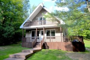 Chalet Style Home with Buck Lake Access!