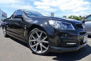 2015 Holden Ute VF MY15 SV6 Ute Black 6 Speed Manual Utility