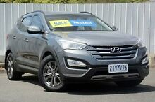 2013 Hyundai Santa Fe DM MY13 Active Silver 6 Speed Sports Automatic Wagon Lilydale Yarra Ranges Preview