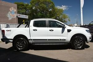 2017 Ford Ranger PX MkII XLT Double Cab Frozen White 6 Speed Manual Utility Woodbridge Swan Area Preview