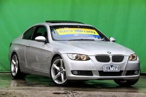 2007 BMW 325I E92 Silver 6 Speed Manual Coupe Ringwood East Maroondah Area Preview