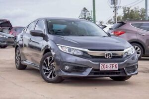 2017 Honda Civic 10th Gen MY17 VTi-S Black 1 Speed Constant Variable Sedan Gympie Gympie Area Preview