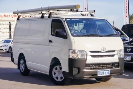2015 Toyota Hiace KDH201R LWB French Vanilla 4 Speed Automatic Van Osborne Park Stirling Area Preview