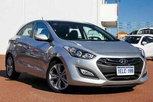 2013 Hyundai i30 GD MY14 Premium Silver 6 Speed Sports Automatic Hatchback Rockingham Rockingham Area Preview