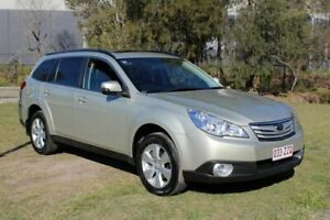 2012 Subaru Outback B5A MY12 2.5i Lineartronic AWD Premium Beige 6 Speed Constant Variable Wagon Ormeau Gold Coast North Preview