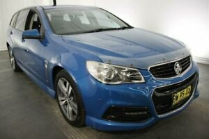2013 Holden Commodore VF MY14 SV6 Sportwagon Blue 6 Speed Sports Automatic Wagon Maryville Newcastle Area Preview