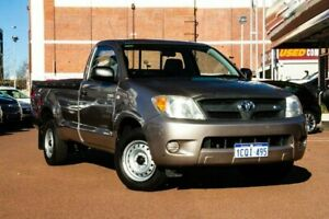 2007 Toyota Hilux GGN15R MY07 SR 4x2 Brown 5 Speed Automatic Utility Fremantle Fremantle Area Preview