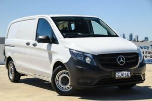 2017 Mercedes-Benz Vito 447 114BlueTEC SWB 7G-Tronic + White 7 Speed Sports Automatic Van