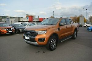 2019 Ford Ranger PX MkIII 2019.75MY Wildtrak Pick-up Double Cab Orange 10 Speed Sports Automatic Launceston Launceston Area Preview