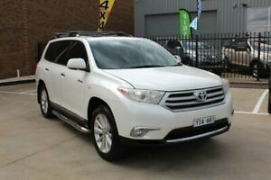 2011 Toyota Kluger GSU40R MY11 Upgrade Grande (FWD) White 5 Speed Automatic Wagon Hoppers Crossing Wyndham Area Preview
