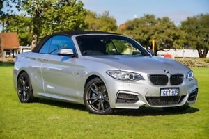 2016 BMW 2 Series F23 M235I Silver 8 Speed Sports Automatic Convertible Burswood Victoria Park Area Preview