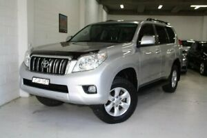 2012 Toyota Landcruiser Prado KDJ150R GXL Silver 5 Speed Sports Automatic Wagon Castle Hill The Hills District Preview