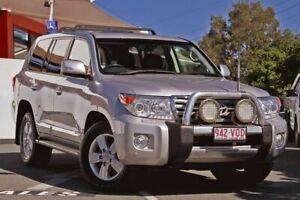 2015 Toyota Landcruiser VDJ200R MY13 Sahara Silver 6 Speed Sports Automatic Wagon Noosaville Noosa Area Preview