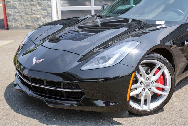 2016 Black Chevrolet Corvette  1LT   C7 Corvette Photo 2