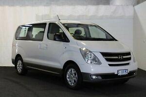 2013 Hyundai iMAX TQ-W MY13 Wagon 8st 5dr Auto 4sp 802kg 2.4i White Automatic Wagon Derwent Park Glenorchy Area Preview