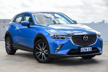 2018 Mazda CX-3 DK2W7A sTouring SKYACTIV-Drive Blue 6 Speed Sports Automatic Wagon Osborne Park Stirling Area Preview