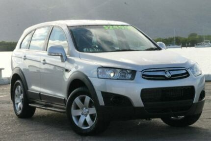 2012 Holden Captiva CG Series II MY12 7 LX Silver 6 Speed Auto Seq Sportshift Wagon Bungalow Cairns City Preview
