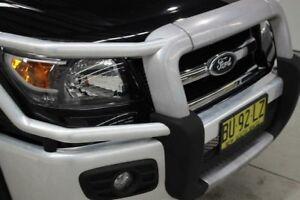 2011 Ford Ranger PK Wildtrak Crew Cab Black 5 Speed Automatic Utility