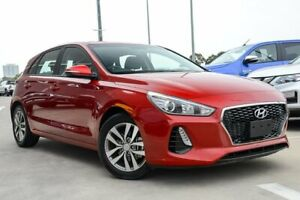 2018 Hyundai i30 PD MY18 Active Fiery Red 6 Speed Sports Automatic Hatchback