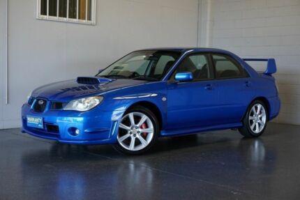2006 Subaru Impreza MY06 WRX (AWD) Blue 5 Speed Manual Sedan Woodridge Logan Area Preview