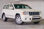 2010 Jeep Grand Cherokee WH MY2010 Limited White 5 Speed Automatic Wagon Bellevue Swan Area Preview
