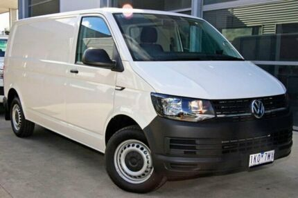 2017 Volkswagen Transporter T6 MY17 TDI340 LWB DSG White 7 Speed Sports Automatic Dual Clutch Van