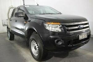 2012 Ford Ranger PX XL Double Cab 4x2 Hi-Rider Black 6 Speed Sports Automatic Utility Maryville Newcastle Area Preview
