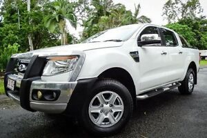 2012 Ford Ranger PX XLT Double Cab White 6 Speed Sports Automatic Utility Earlville Cairns City Preview