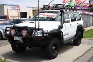 2008 Nissan Patrol GU 6 MY08 DX White 5 Speed Manual Wagon Altona North Hobsons Bay Area Preview