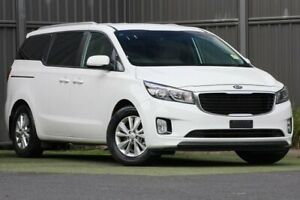 2017 Kia Carnival YP MY17 SI White 6 Speed Sports Automatic Wagon Wantirna South Knox Area Preview