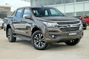 2017 Holden Colorado RG MY18 LTZ Pickup Crew Cab Grey 6 Speed Sports Automatic Utility Castle Hill The Hills District Preview