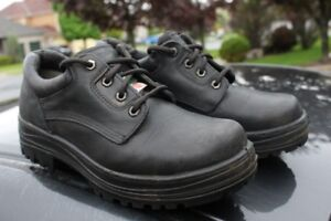 Steel Toe Dakota Work Pro Safety leather shoes size Men's Size U