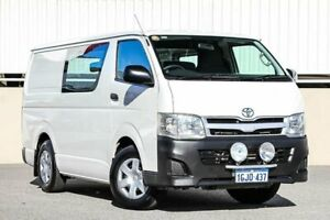 2010 Toyota HiAce TRH201R MY07 Upgrade LWB White 5 Speed Manual Van Cannington Canning Area Preview