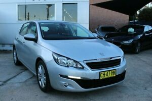 2015 Peugeot 308 T9 Active Silver 6 Speed Sports Automatic Hatchback Croydon Burwood Area Preview