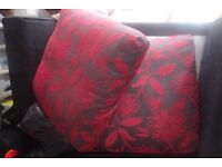 2 Sofas with floral pattern