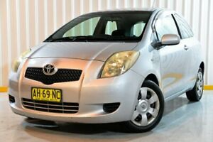 2005 Toyota Yaris NCP91R YRS Silver 4 Speed Automatic Hatchback Hendra Brisbane North East Preview